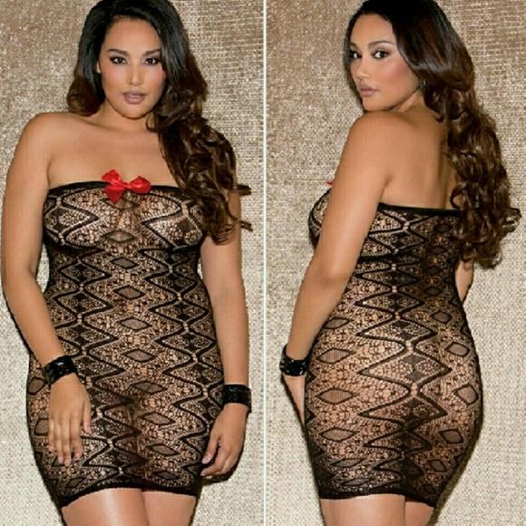 Intimates Sleepwear Plus Size Lingerie Dress Poshmark